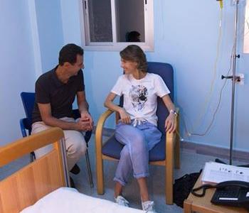 همسر بشار اسد به سرطان مبتلا شد