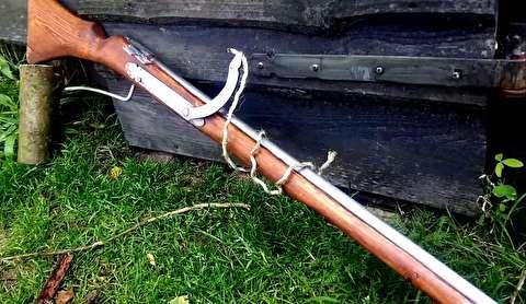تفنگ سرپر کبریتی کالیبر 72