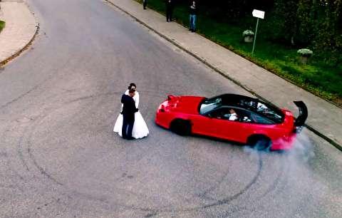 دریفت عروسی، حرکتی پرریسک