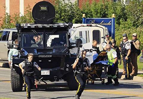 تیراندازی مرگبار در فردریکتون کانادا
