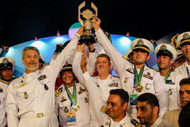 ایران قهرمان مسابقات غواصی ارتشهای جهان