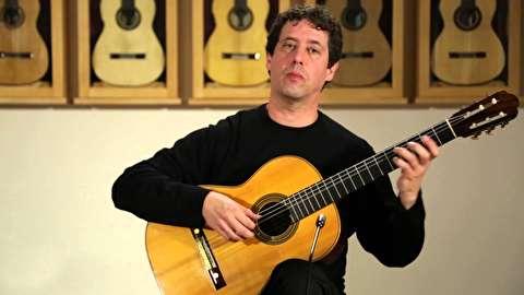 پارتیتور ویولن در دی مینور باخ با گیتار ؛ مارک تیچلز