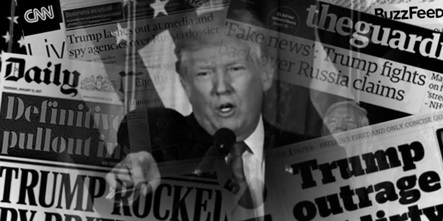 تیتر و سرمقاله ۷۰ روزنامه آمریکا علیه ترامپ