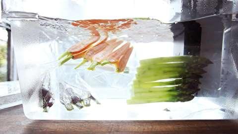 روش پخت سبزیجات به سبک سووید