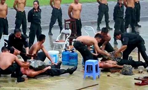 نیروهای ویژه ویتنام که میخ به تنشان فرو نمیرود