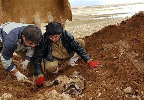 کشف پیکر 8 شهید دفاع مقدس در عراق