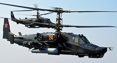 هلیکوپتر تهاجمی کاموف-50