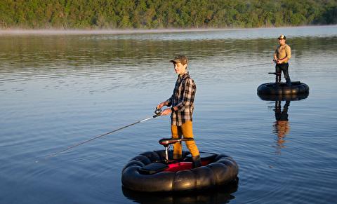 قایق الکتریکی بادی ایدهآل ماهیگیران است