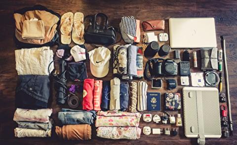 راهنمای بستن چمدان برای یک سفر طولانی