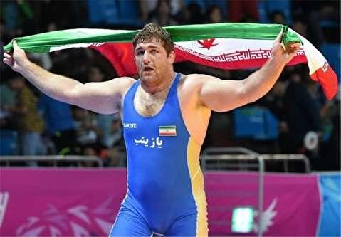 پیروزی و کسب مدال طلا توسط پرویز هادی