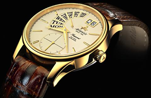 طرحهای ساعت آتلانتیک از 2008 تا 2018