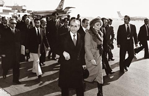 فرار محمدرضا شاه از ایران