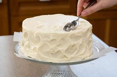 طرز تهیه کیک سفید ساده