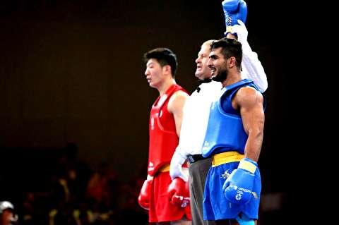 نبرد قهرمانی محمدسیفی در بازیهای آسیایی