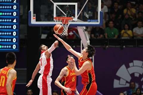 گزیده بازی بسکتبال ایران و چین در بازیهای آسیایی