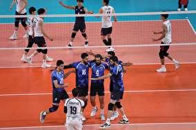 گزیده جدال قهرمانی والیبال ایران در بازیهای آسیایی