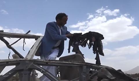 پدر یمنی که سعودیها سه فرزندش را کشتند