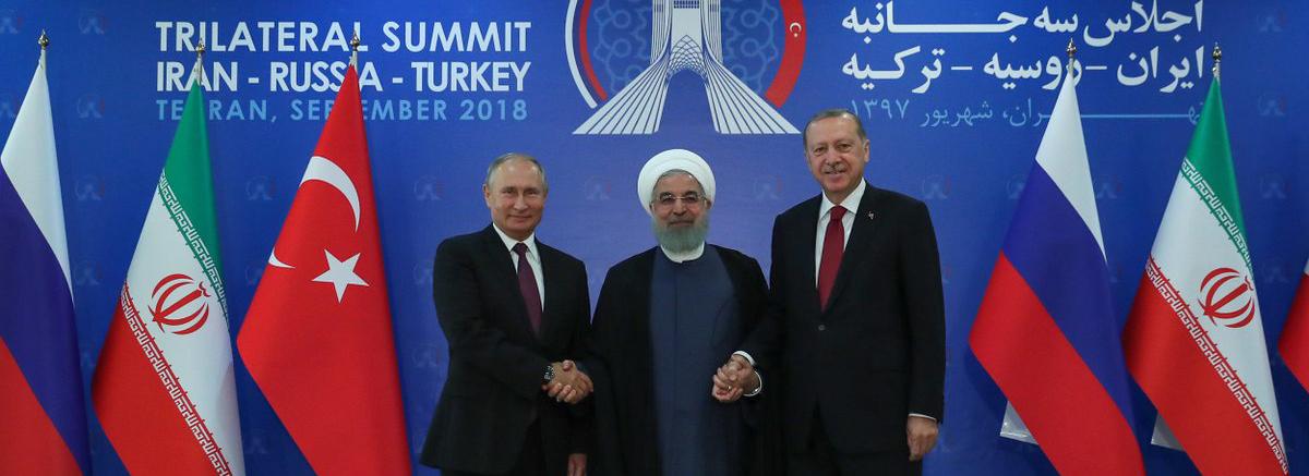 روحانی: باید تمامیت ارضی و استقلال سوریه محترم شمرده شود / پوتین: تروریستها در ادلب به دنبال استفاده از سلاحهای شیمیایی هستند / اردوغان: ادلب برای امنیت ملی ترکیه مهم است