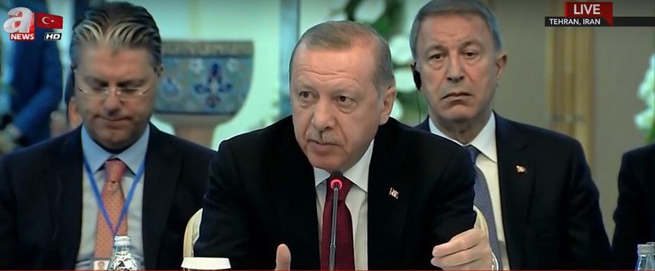 روحانی: باید تمامیت ارضی و استقلال سوریه محترم شمرده شود / پوتین: تروریستها در ادلب به دنبال استفاده از سلاح شیمیایی هستند / اردوغان: ادلب برای امنیت ملی ترکیه مهم است + متن بیانیه مشترک