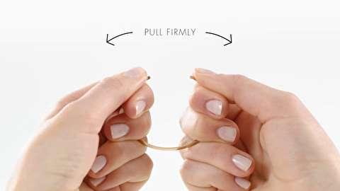 روش تنظیم اندازه دستبند فلزی زنانه