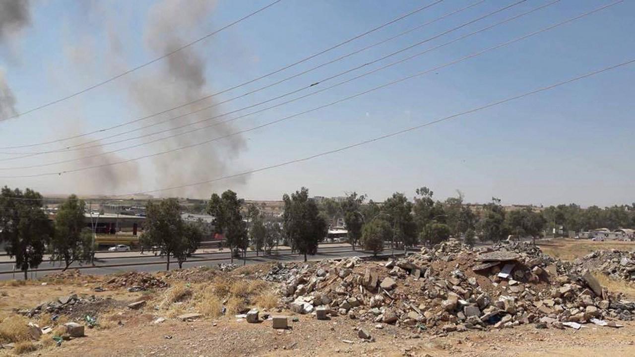 حمله موشکی ایران به مواضع حزب دموکرات کردستان عراق + فیلم