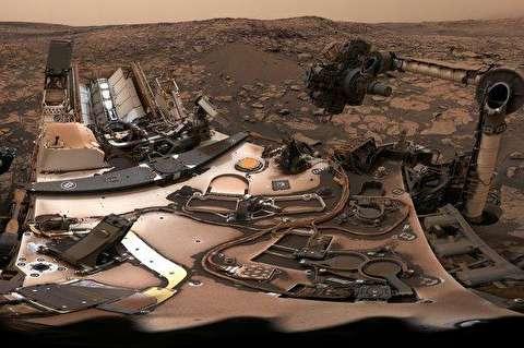 سلفی 360 درجهای کاوشگر ناسا در مریخ