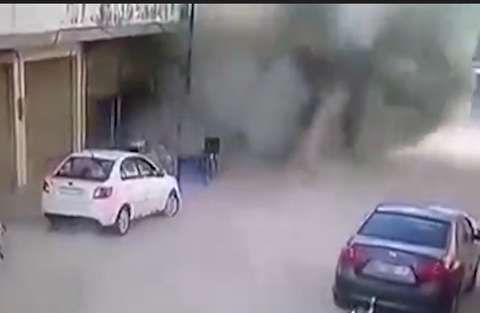 حمله تروریستی به یک فروشگاه در حماه سوریه