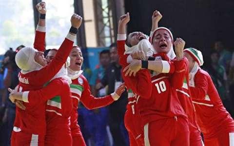 قهرمانی تيم ملی كبدی زنان در بازیهای آسیایی