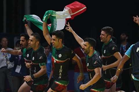 جدال قهرمانی کبدی مردان ایران در آسیا