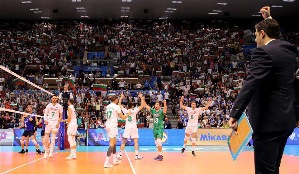 تیم ملی والیبال در سالن جهنمی بلغارها در وارنا