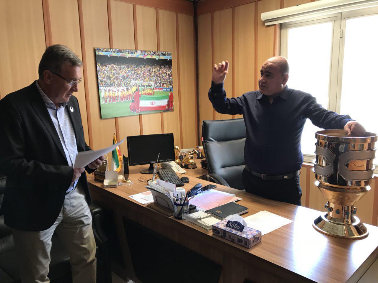 برانکو، جام سوپرکاپ را درسازمان لیگ بغل کرد