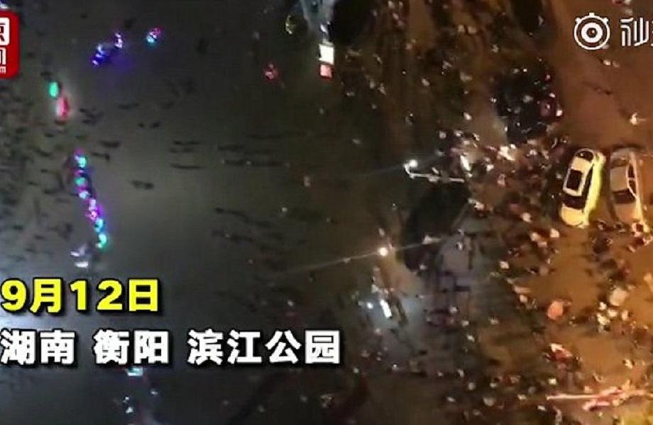 قربانیان برخورد خودرو با جمعیت در چین به ۹ تن رسید