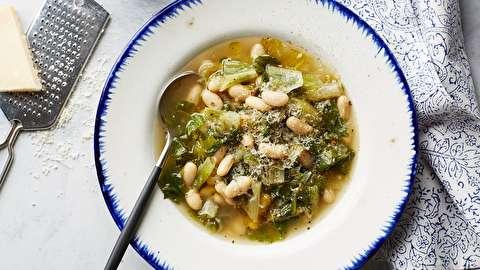 دستور پخت سوپ لوبیا سفید ایتالیایی