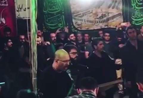 مداحی محمد بحرانی در هیات خوزستانیها