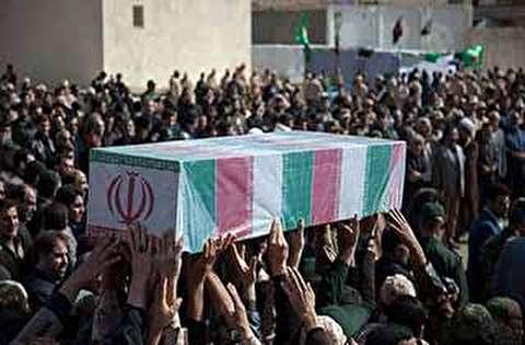 حال و هوای تشییع پیکر 135 شهید گمنام در تهران