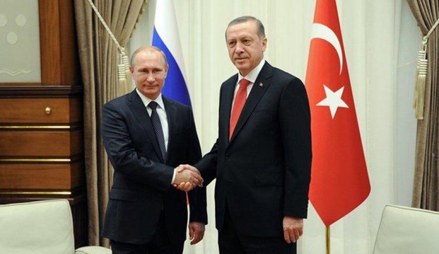 اردوغان روز دوشنبه در روسیه، با پوتین دیدار میکند