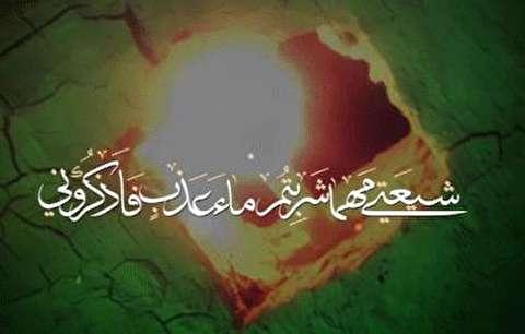 شیعتی مهما شربتم ماء عذب فاذکرونی