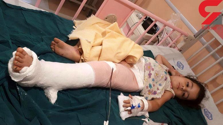 سقوط کودک از طبقه سوم در قائمشهر