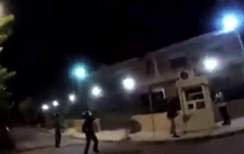 لحظات حمله به سفارت ایران در یونان