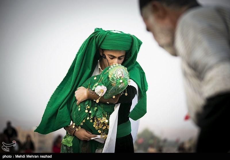 مراسم تعزیه خوانی در شهر جم عسلویه - تابناک | TABNAK