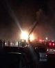 ۴۷ کشته و زخمی حاصل برخورد اتوبوس با تانکر سوخت در محور نطنز-کاشان