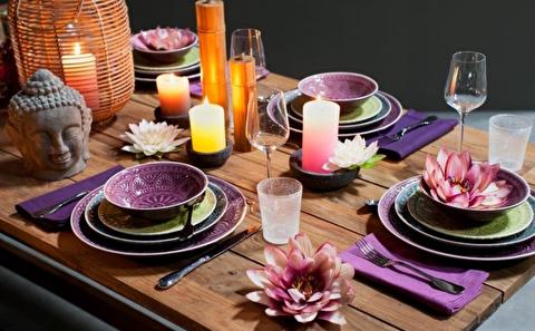 پنج طرح سفره آرایی و تزیین میز غذا