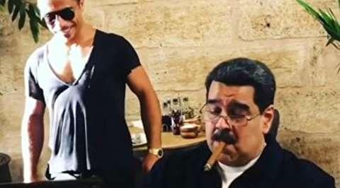 جنجال حضور مادورو در رستوران گرانقیمت