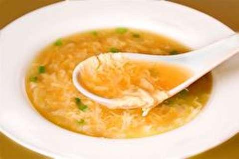 دستور پخت سوپ با تخم مرغ آماده
