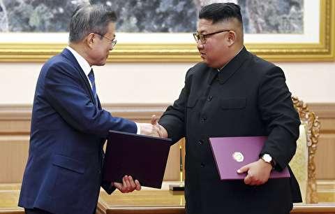 حضور رهبران دو کره در کنسرت پیونگیانگ