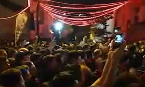 عزاداری باشکوه عاشقان حسینی در استانبول