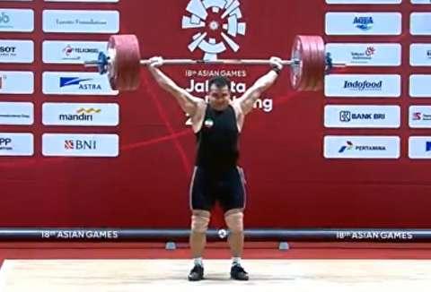 رکوردشکنی سهراب مرادی در بازیهای آسیایی