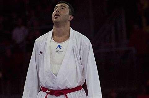نبرد قهرمانی گنجزاده در کاراته بازیهای آسیایی