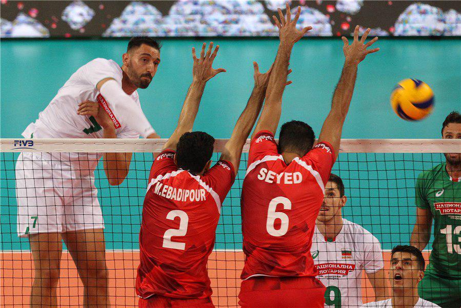 والیبال ایران محکوم به شکست کانادا و آمریکا شد