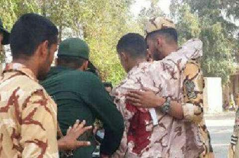 لحظات وقوع حمله تروریستی در اهواز